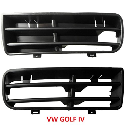 vw-golf-4-iv-ensemble-dgrille-pour-pare-chocs-avant-gauche-et-droite-neuf