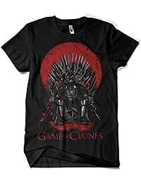 Camiseta Star Wars - Game Of Thrones - Game Of Clones