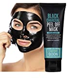 EARTHYBOON Activated Black Charcoal Peel off Pure Face Mask for Boys and Girls