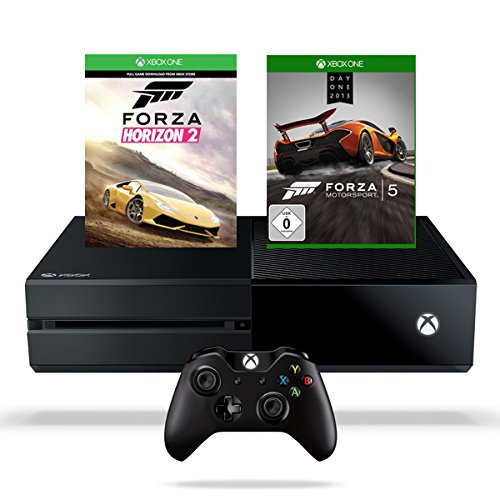 Xbox One 500GB Konsole inkl. Forza Horizon 2 + Forza Motorsport 5 - Day One - Edition (Forza Horizon 5)