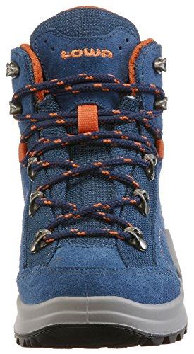 Lowa Unisex-Kinder Kody Iii Gtx Mid Junior Wanderstiefel blau/orange