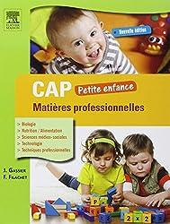 CAP Petite enfance Matières professionnelles 3ed