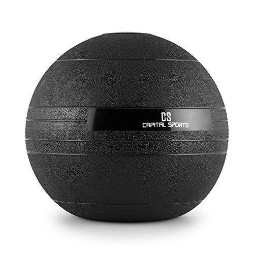 CAPITAL SPORTS Groundcracker Pelota de peso 18kg (Balón medicinal gom