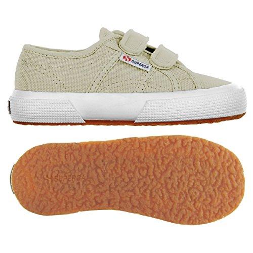 Superga 2750 JVEL Classic Unisex-Kinder Sneakers Taupe