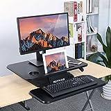 SLYPNOS Standing Desk, Scrivania in Piedi, Scrivania Regolabile in Altezza, Buona Soluzione per Ergonomia, 64 x 45.5 x 40 cm, Fino a 8 kg, Robusto e Maneggevole in Alzata e Discesa