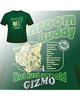 Gremlins movie inspired t-shirt Bathroom Buddy in Green (s-xxl)