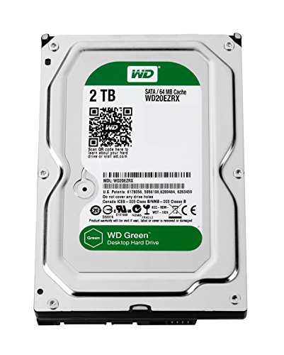 Western Digital Caviar Green 2 TB Desktop WD Internal Hard Drive (WD20EZRX)