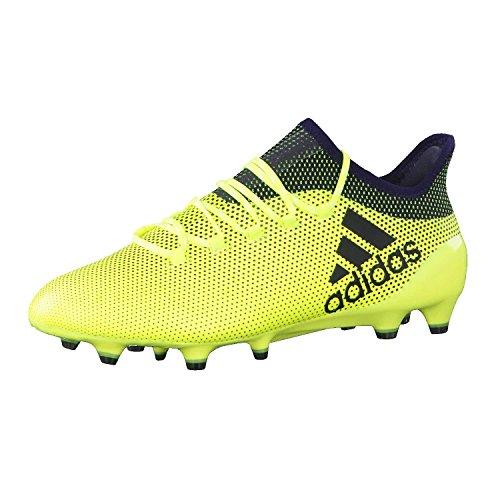 the best attitude 832f0 3dfa6 Adidas X 17.1 FG, Botas de Fútbol para Hombre, Amarillo (Amasol Tinley