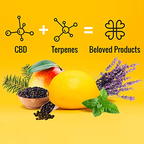 Harmony E-líquido de CBD (más de 99% pureza) - Terpenos de Super Lemon Haze - 300 mg CBD en 10 ml - Sin Nicotina