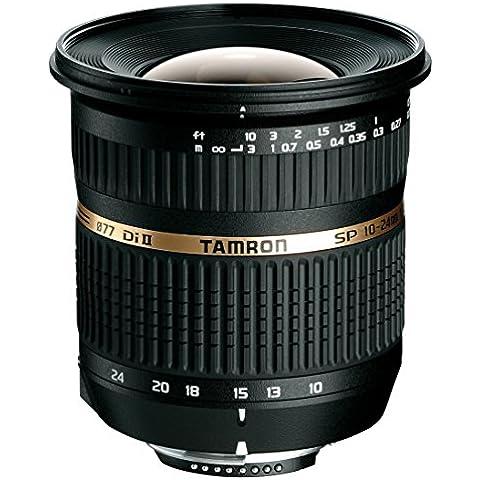 Tamron B001E SP AF 10-24/3.5-4.5 Di II LD ASL (IF) - Objetivo para Canon (distancia focal 10-24mm, apertura f/3.5-4,5, macro, diámetro: 77mm)