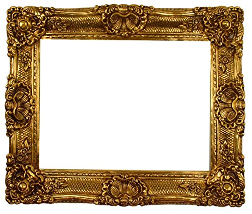 Starline Barock Bilderrahmen Gold 75x95 / 50x70cm (Antik) Im Retro Vintage Look durch Handarbeit...