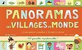 Panorama des villages du monde : 8 frises géantes à compléter et 24 sujets à colorier