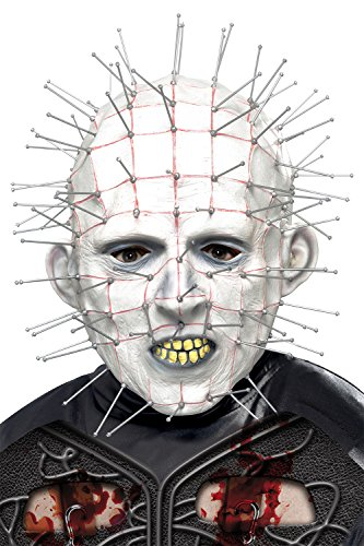 stüm-Zubehör, Pinhead Maske (Pinhead Hellraiser Kostüm)