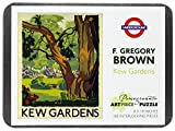 F. Gregory Brown: Kew Gardens 100-Piece Jigsaw Puzzle Aa831