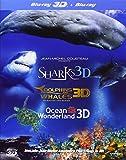 Jean-Michel Cousteau 3d Film Trilogy [Reino Unido] [Blu-ray]