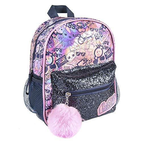 L o l surprise! | borsa delle ragazze | zaino | borsa da scuola | design unico ed esclusivo! | regalo perfetto! | ottimo per vacanze e ritorno a scuola! | (zaino olografico)