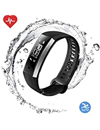 Activity Fitness Tracker Sleep Heart Rate Monitor Smart Bracelet with Step Counter Pedometer