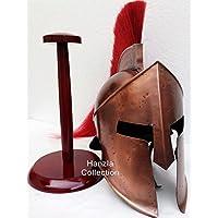 ANTIQUENAUTICAS König 300 Film Leonidas Spartaner Helm Griechischer Krieger Kostüm Helm Mittelalter