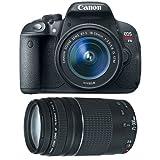 #8: Canon EOS Rebel T5i Digital SLR Camera & EF-S 18-55mm IS STM Lens with Canon EF 75-300mm f/4-5.6 III Zoom Lens