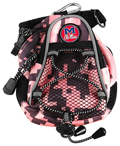 LinksWalker Mississippi rebels-ole miss-mini Tag Stück Digi Camo, Pink/Camo, One size