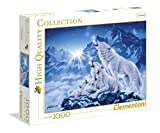 Clementoni 39280.3 - 1000 T High Quality Collection Wolfsrudel, Klassische Puzzle