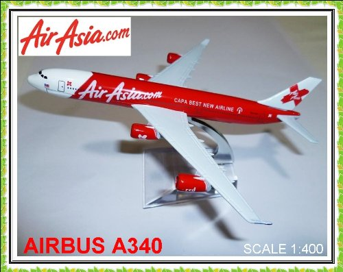 airbus-a340-air-asia-airasiacom-airlines-metal-plane-model-16cm
