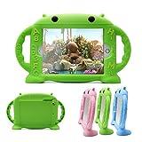 iPad Mini 4 Caso, iPad Mini 2 / Mini 3 Caso, CHINFAI Kids amistoso de Dibujos Animados Funda de Silicona Protectora portar la Cubierta del Soporte de la manija para Apple iPad Mini 1/2/3/4 Tablet