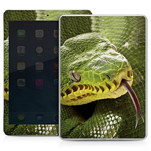 DeinDesign Apple IPad Air Case Skin Sticker aus Vinyl-Folie Aufkleber Natter Schlange Snake