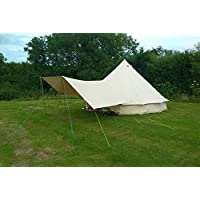 Canvas Bell Tent Awning 360 x 240 - 2 pole ... 29