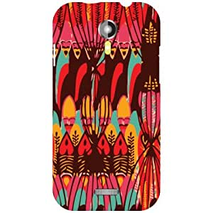 Micromax A117 Canvas Magnus Back Cover - Mixed Art Designer Cases