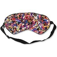 Natural Silk Eyes Mask Sleep Amazing Splatter Paint Blindfold Eyeshade with Adjustable for Travel,Nap,Meditation... preisvergleich bei billige-tabletten.eu