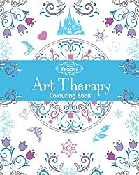 Disney Frozen Art Therapy Colouring Book by Parragon Books (2016-03-11)
