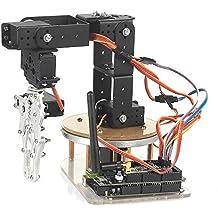 SainSmart Control Palletizing Robot Arm Brazo Robótico Model DIY w/Arduino Controller & Servos DIY (6-Axis)