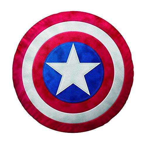 Bassetti 9255333 Captain America Coussin Bouclier Rouge