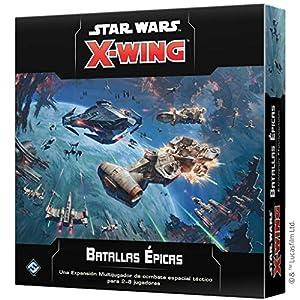 Fantasy Flight Games- Star Wars X-Wing 2.0: Batallas Épicas, Color (SWZ57ES)