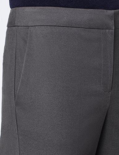 MERAKI Gerade geschnittene Hose Damen Grau (Marl Charcoal)