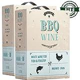 Weißwein Spanien Bag in Box BBQ Wein Macabeo (2x3,0L)