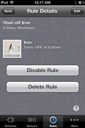 Belkin Wemo Home Automation Switch mit Motion-Sensor, intelligente Steckdose für iOS- und Android-Geräte - 12