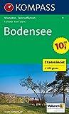 Bodensee: Wanderkarten-Set mit Naturführer in der Schutzhülle. GPS-genau. 1:35000 (KOMPASS-Wanderkarten, Band 11)