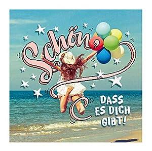 Depesche 5326.026 - Tarjeta de felicitación de cumpleaños, diseño en 3D, Multicolor