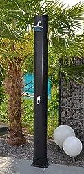 WelaSol ® Solardusche 34 Liter Gartendusche 2,20 m mit Wellness Duschkopf