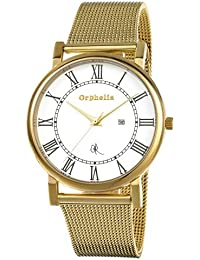 Orphelia Herren-Armbanduhr XL Analog Quarz Edelstahl OR53970412