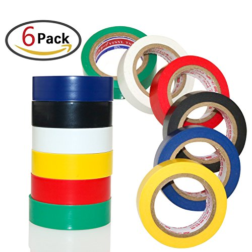 zesgood-6-pack-waterproof-electrical-adhesive-tape-insulating-electrical-tape-gaffer-tape
