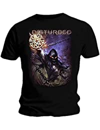 Disturbed Official T Shirt Immortalized 'Vortex Colours' Logo All Sizes