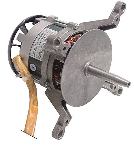 FIR 1020A2353 Lüftermotor 230V 0,37kW 1400U/min 50Hz 1 -phasig 1.400 U/min D1 ø 17mm D2 12mm Geschwindigkeiten 1 M8L IG L2 50mm