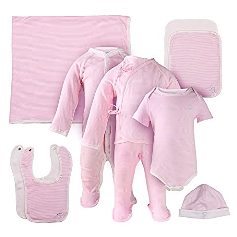 miSafes Ten Pieces Purified Cotton Unsexy Newborn Baby Bodysuit Gift