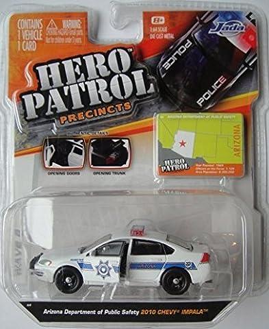 Hero Patrol 1:64 Scale Die-Cast Vehicle(Colours/Styles Vary)
