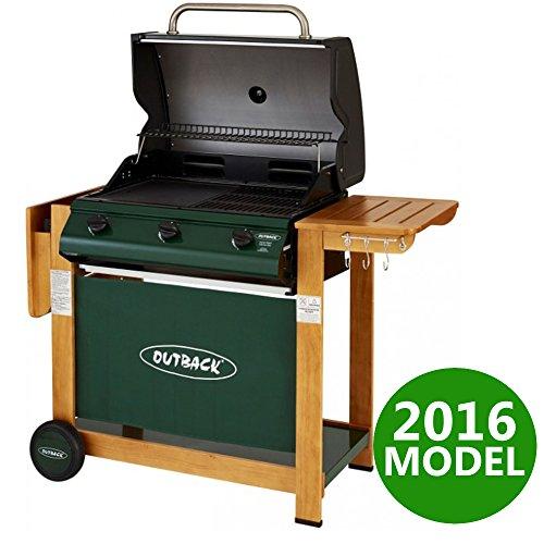 Outback Hunter 3 Burner Gas Barbecue - 2016 Model