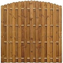 Vallas de madera jardin for Recinzioni in legno obi