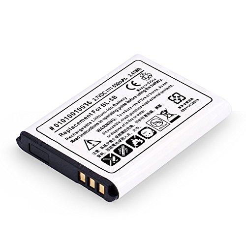 Avantree BL-5B Batteria Ricaricabile agli Ioni di Litio (3.7V 650mAh) per l'Uso con i Modelli 10BS,10BP e 10BN.